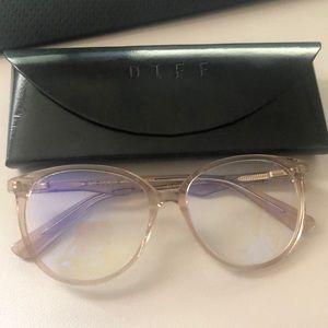 Diff Alice-Mauve Crystal Blue Light Glasses